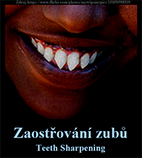 Zaostřování zubů-Teeth Sharpening