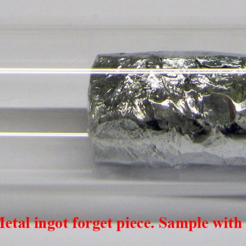 Zinek-Zn-Zincum  4N 11,8g Zinc Metal ingot forget piece. Sample with oxide-free surface..jpg