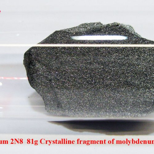 Molybden-Mo-Molybdenum 2N8  81g Crystalline fragment of molybdenum with oxide-free surface..jpg