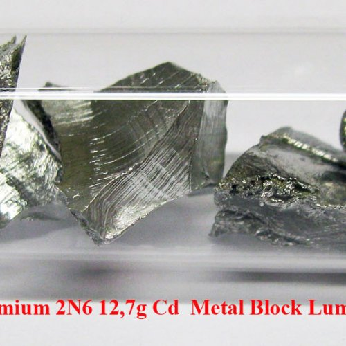 Kadmium - Cd - Cadmium 2N6 12,7g Cd  Metal Block Lumps 2.jpg