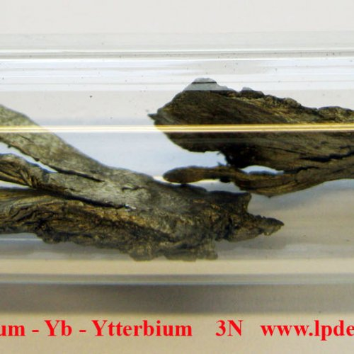 Ytterbium - Yb - Ytterbium  sublimed dendritic pieces