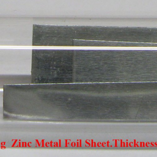 Zinek - Zn - Zincum  4N 1,2g  Zinc Metal Foil Sheet.Thickness 0,1mm.jpg