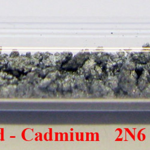 Kadmium - Cd - Cadmium Metal Crystalline Lumps-Pieces