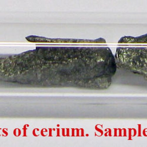 Cer - Ce - Cerium 2N 1g Metal fragments of cerium. Sample with oxide-free surface..jpg