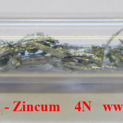 Zinek - Zn - Zincum Zinc dendritic fragments sample pieces.
