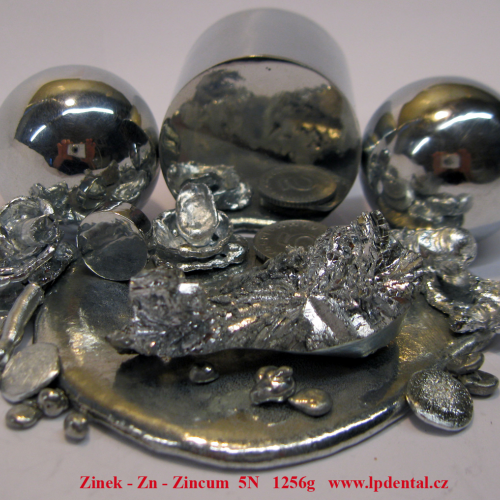 Zinek- Zn -Zincum Zinc Ball,Metal Cylider Rod,Pellets,Melted  Sample Piece