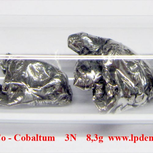 Cobalt 4N  Co pellets   melted by electromagnetic induction wit oxide-free sufrace