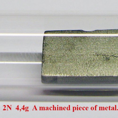 Cer - Ce - Cerium  2N  4,4g  A machined piece of metal..jpg