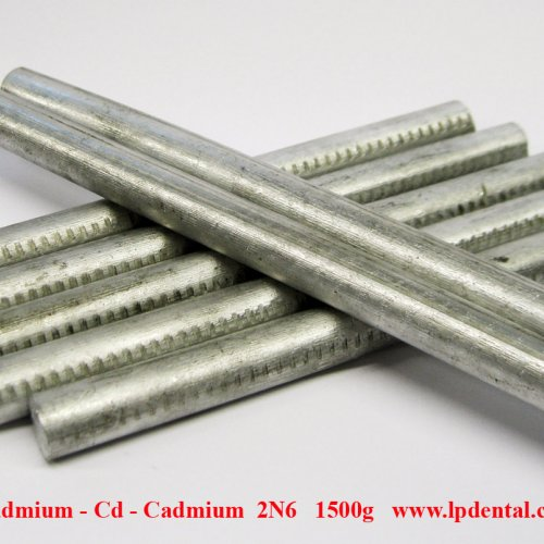 Kadmium - Cd - Cadmium   Metal Rods Diemeter 12mm