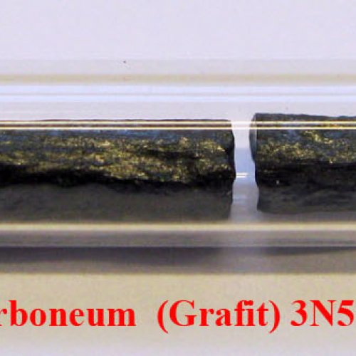 Uhlík - C - Carboneum-grafit Sample-rough surface