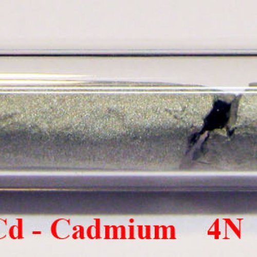 Kadmium  - Cd - Cadmium Sample-sand blasted surface.