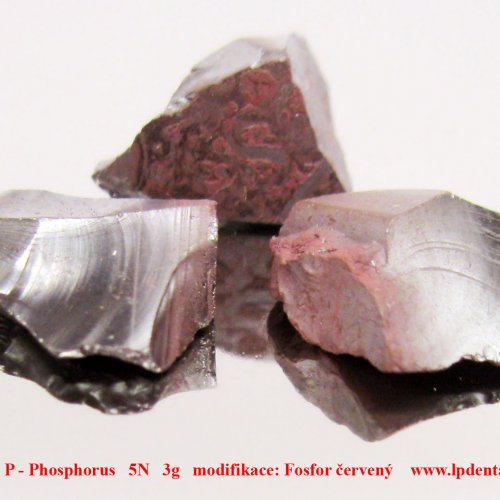 Fosfor - P - Phosphorus  Red phosphorus pieces