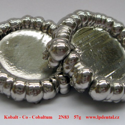 Kobalt - Co - Cobaltum  Pure cobaltum buttons, obtained by electrolysis, about 57 grams