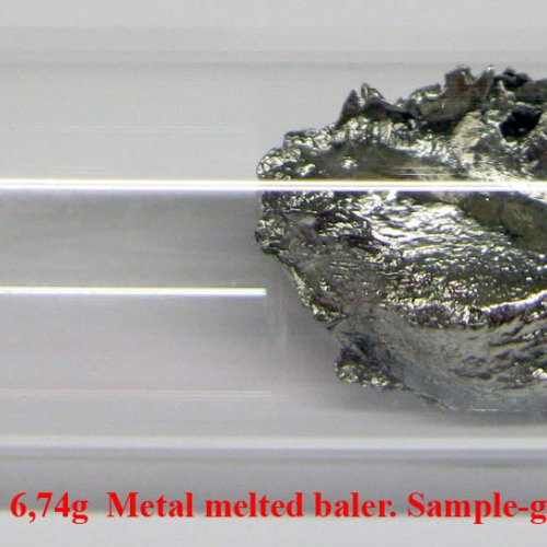 Kadmium - Cd - Cadmium  5N 6,74g  Metal melted piece. Sample-glossy sufrace..jpg
