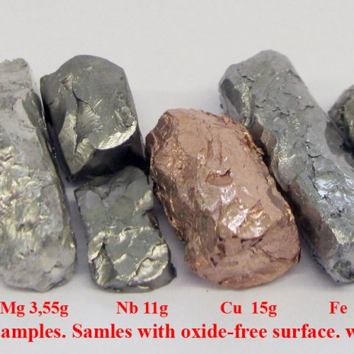 Forged metal samples. Samles with oxide-free surface. 1.jpg