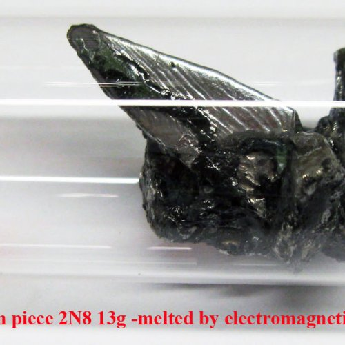 Molybden-Mo-Molybdenum piece 2N8 13g -melted by electromagnetic induction. 1.jpg