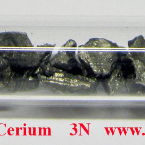 Cer - Ce - Cerium    3N  Metal fragments of cerium