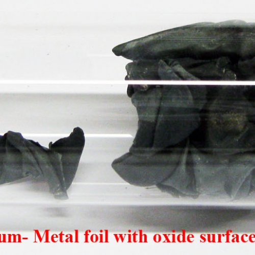 Lithium - Li - Lithium- Metal foil with oxide surface..jpg