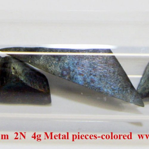 Cer - Ce - Cerium  2N  4g Metal pieces-colored   1.jpg