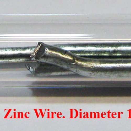 Zinek - Zn - Zincum 4N Zinc Wire. Diameter 1mm  1.jpg