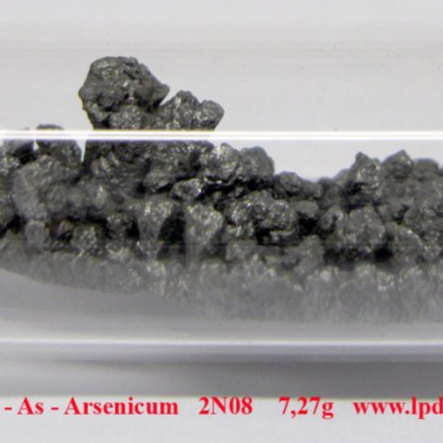 Arsen - As - Arsenicum 2N08 - Crystalline arsenic with oxide-free surface.