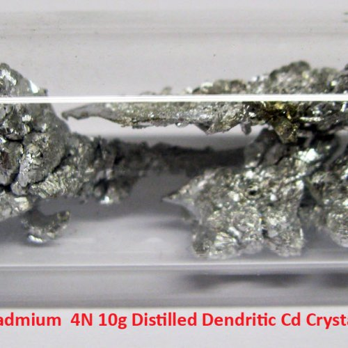 Kadmium - Cd - Cadmium  4N 10g Distilled Dendritic Cd Crystals 1.jpg