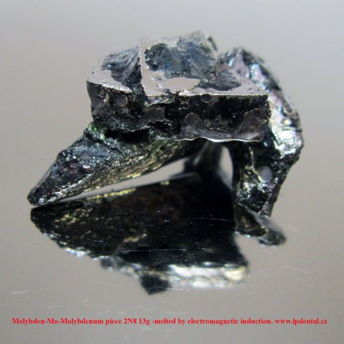 Molybden-Mo-Molybdenum piece 2N8 13g -melted by electromagnetic induction. 2.jpg